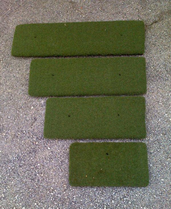 Country Club Elite® Golf Mat Hitting Strip - 10 x 36 inch CCE Hitting Strip