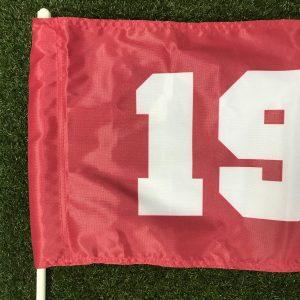Backyard Golf Flag