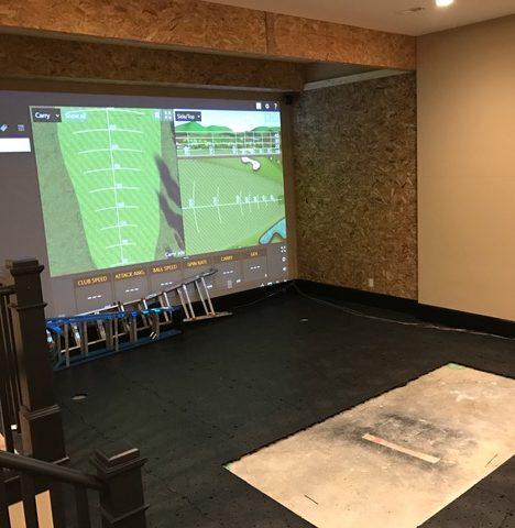 Trakman Golf Simulator Room Real Feel Golf Mats