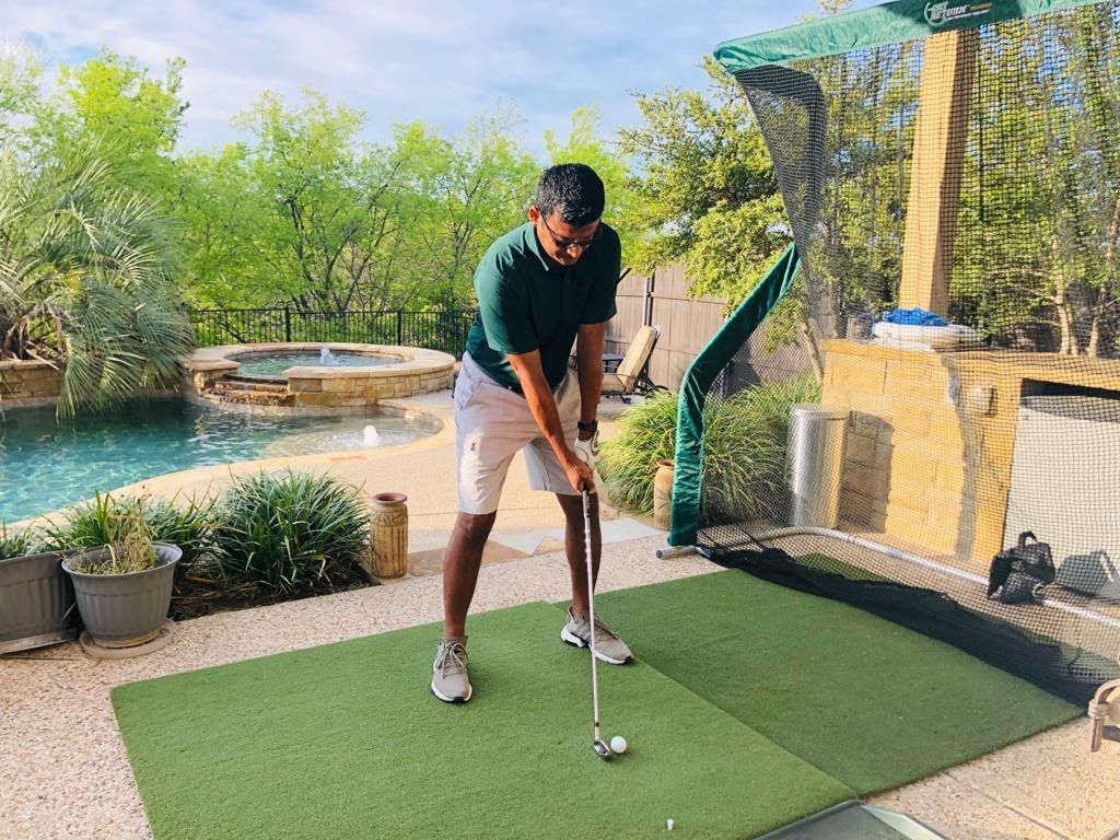 Golf Mat and Net Bundle