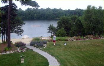 Backyard Aquatic Driving Range